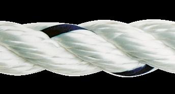 allpa Allcord-1  geslagen polyester  Ø10mm  wit  haspel 200m (breekkracht 1680kg)