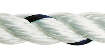 allpa Allcord-1  geslagen polyester  Ø14mm  wit  haspel 170m (breekkracht 3370kg)