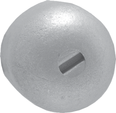 allpa Aluminium Anode Mercruiser / Sterndrive Alpha One en Bravo 1/2/3 Button (OEM 55989)