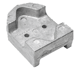 allpa Aluminium Anode Mercruiser / Sterndrive Bravo 2  REF: 43994 (OEM 821631)