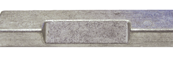 allpa Aluminium Anode boutmontage  gatsafstand = 200mm (3 00kg)