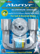 allpa Aluminium Anode kit Bravo-2 & 3 ≥1989