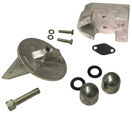 allpa Aluminium Anode kit Navalloy Alpha 1 Gen 1 (no power)