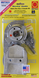 allpa Aluminium Anode kit Navalloy  Alpha-1-Gen II  1991 - present