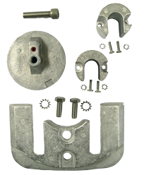 allpa Aluminium Anode kit Navalloy  Bravo-2  1989 - Present & Bravo-3  1989 - 2003