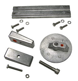 allpa Aluminium Anode kit Navalloy  Verado 4/ Optimax