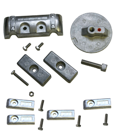 allpa Aluminium Anode kit Navalloy Verado 6