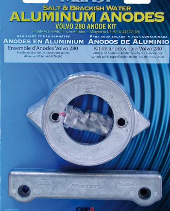 allpa Aluminium Anode kit Volvo 280
