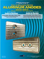 allpa Aluminium Anode kit Volvo SX-A / DPS