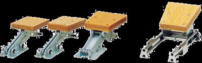 allpa Aluminium Buitenboordmotorstoel  klapbaar (max. 30kg)