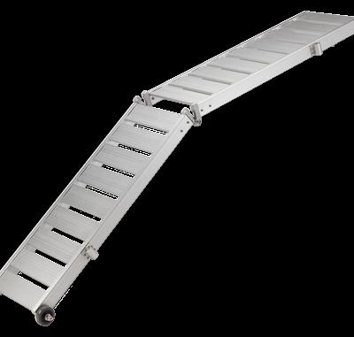 allpa Aluminium Loopplank 260cm x 36cm (7 5cm dik)  2-delig  draaggewicht 160kg