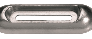 allpa Aluminium anode boutmontage  Model B 320x65x35x160