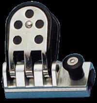allpa Aluminium genuaslede met RVS versterkte schijf  voor T-Schienen 26x4mm  max. schoot Ø14mm