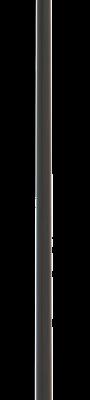 allpa Aluminium helmstokverlenger (joystick)  met golfclubhandvat & kunststof fitting  L=760mm
