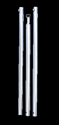 allpa Aluminium houder radarreflector Navy star voor reddingsvlot (A)