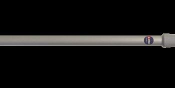 allpa Aluminium telescopische bootshaak met kunststof haak  L=1300-2100mm