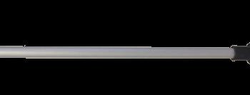 allpa Aluminium telescopische bootshaak met kunststof peddel & haak  L=1650-2000mm