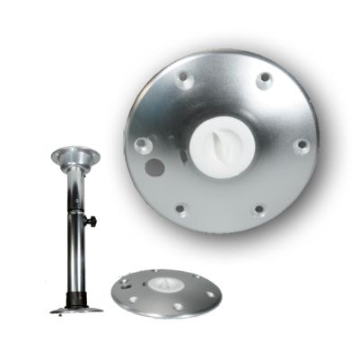 allpa Aluminium twist lock extra voetplaat