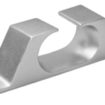 allpa Aluminium verhaalklamp  L=140mm  B=26mm  opening 15mm  (hartmaat: 119mm  M4)