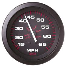 allpa Amega Domed snelheidsmeter 0-65 Mph (inclusief pitot & slang)