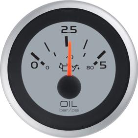 allpa Argent Pro oliedrukmeter 0-5 bar (SW)