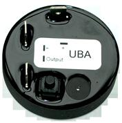 allpa Battery watch monitor model UBA  3 hoofdprogramma's met buzzer & alarmcontact  Ø45mm