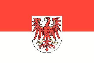 allpa Brandenburg vlag 20x30cm