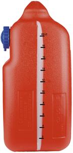 allpa Brandstoftank Kunststof 25l  met Indicator (strip) en reserve