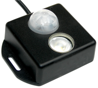 allpa Brightline Infrarood bewegingsschakelaar PLS-1 PIR DC 12/24V ingebouwde LED-Lamp