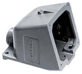 allpa CEE-32A Opbouwhuis voor stopcontact (089322)  aluminium