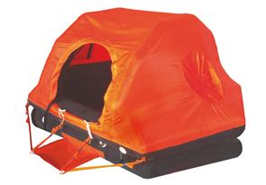 allpa Coastal Reddingsvlot ISO 9650-1 4-persoons in container (zelfoprichtend)
