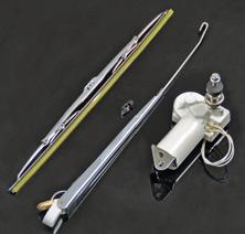 allpa Complete ruitenwisserset model 'Charly' verstelbare parallelarm met RVS wisserblad