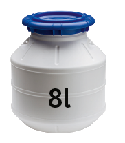 allpa Container waterdicht  8l  H=260 (tonnetje)