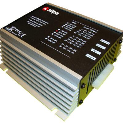 allpa DC/DC Omvormer model SMG-1224-100  9-18V -->24V  4A  100W  met isolatie