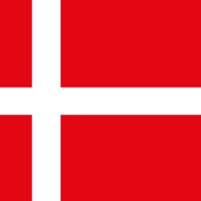 allpa Deense vlag 30x45cm
