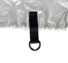 allpa Dekzeil maat XL  zilvergrijs  bootlengte 580-650cm  bootbreedte 285cm