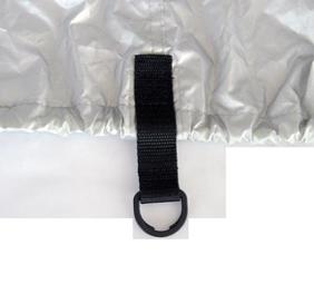 allpa Dekzeil maat XS  zilvergrijs  bootlengte 427-488cm  bootbreedte 229cm