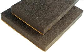 allpa Dempflex-absorbel geluids-isolatie plaat 30 1400x1000x30mm (zelfklevend)