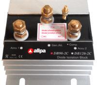 allpa Diode blok model DB-90-2C  max. laadstroom 70A  max. dynamostroom 90A