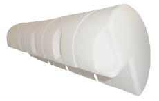 allpa Dockfender 1000x190x190mm 3 6kg wit (maat 1)