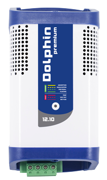 allpa Dolphin premium elektronische acculader 12V 10A capaciteit 160Ah