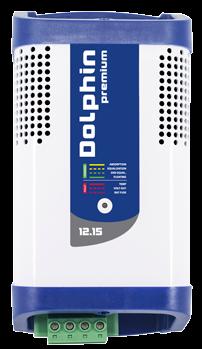 allpa Dolphin premium elektronische acculader 12V 15A capaciteit 220Ah