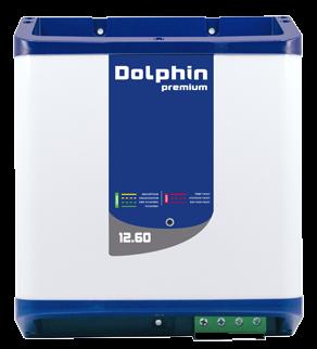 allpa Dolphin premium elektronische acculader 12V 60A