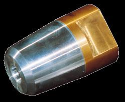 allpa Dopmoer met zinkanode & RVS borgring voor schroefas Ø25mm