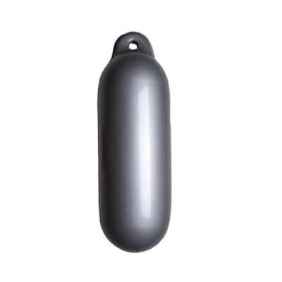allpa Dropfender  Ø120mm  L=450mm  zilver (maat 1) (opblaasbaar met kogelventiel)