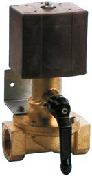 allpa Elektrische afsluiter  12V/60W  1 inwendige draad