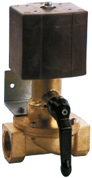 allpa Elektrische afsluiter  24V/60W  1 inwendige draad