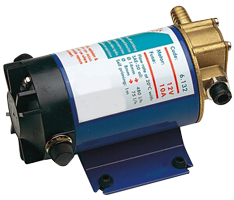 allpa Elektrische olie-afzuigpomp 24V capaciteit Ø14mm: 480l/u Ø8mm: 75l/u zelfaanzuigend tot 1m