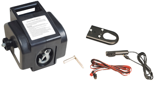 allpa Elektrische trailerlier 12V Max. 40A Inclusief afstandsbediening