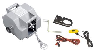 allpa Elektrische trailerlier 12V   Max. 50A Inclusief afstandsbediening